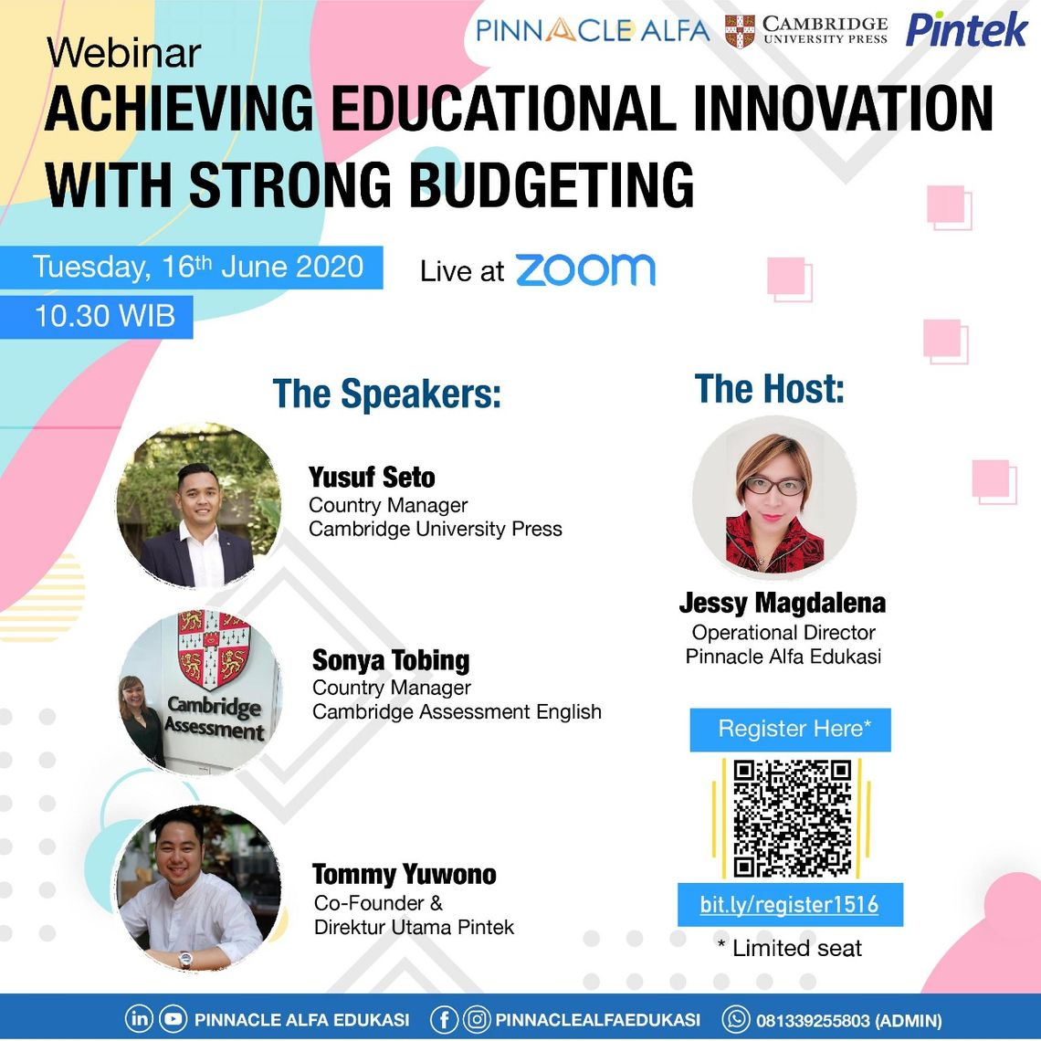 Achiveving Educational Innovation with Strong Budgeting